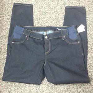Gap Maternity Inset Panel Skinny Jeans 14